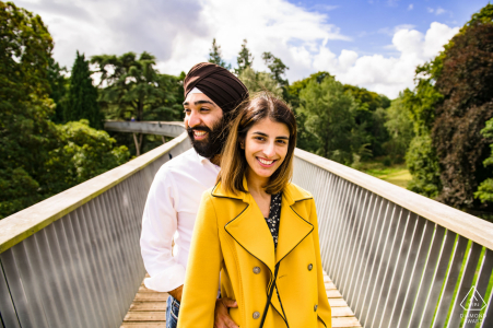 Westonbirt Arboretum, Gloucestershire surprise proposal engagement shoot