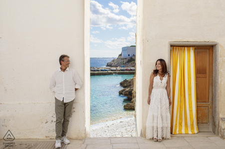Levanzo - Egadi Island - Italy Sicily Engagement Photo session in Levanzo Small Island