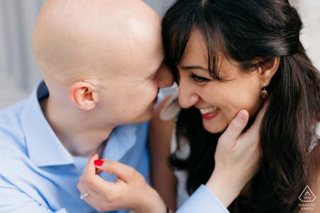 Abbaye des Vaux de Cernay, France love session close up for pre-wedding images