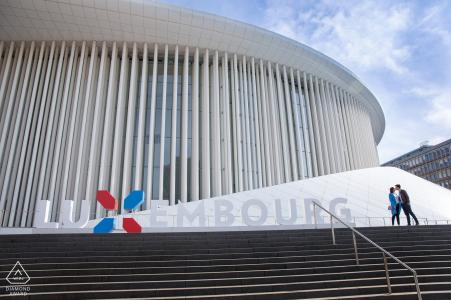 Session d'engagement des Beaux-Arts du Luxembourg aux étapes de la Philharmonie