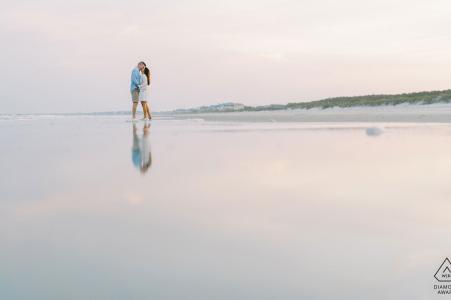 """Huntington Beach State Park, Murrells Inlet, sesión electrónica de participación ambiental de Carolina del Sur: """"Las imágenes del atardecer en esta playa son mágicas en esta playa. Me encanta capturar reflejos como los atardeceres"""""""