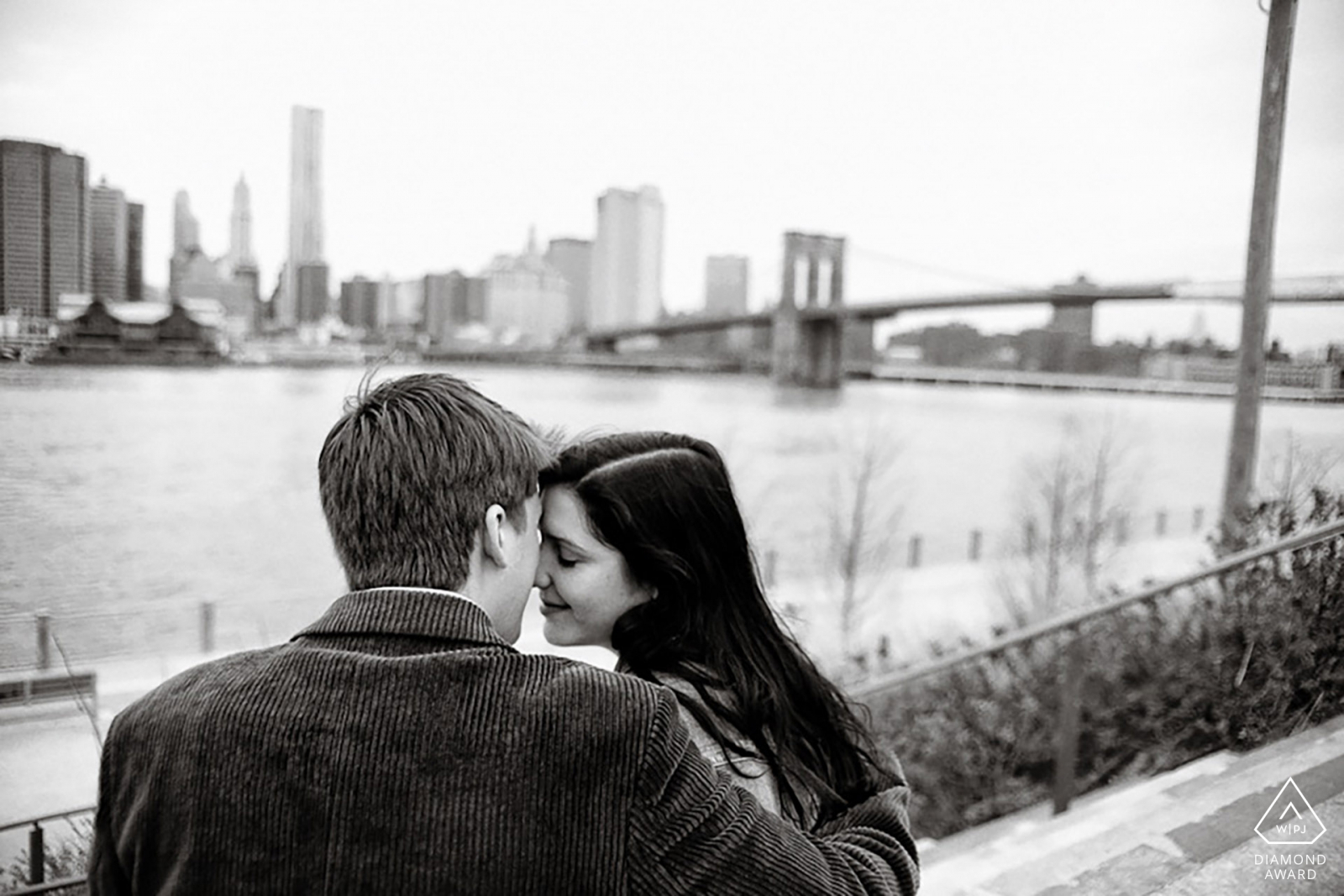 brooklyn engagement photo session by Casey Fatchett