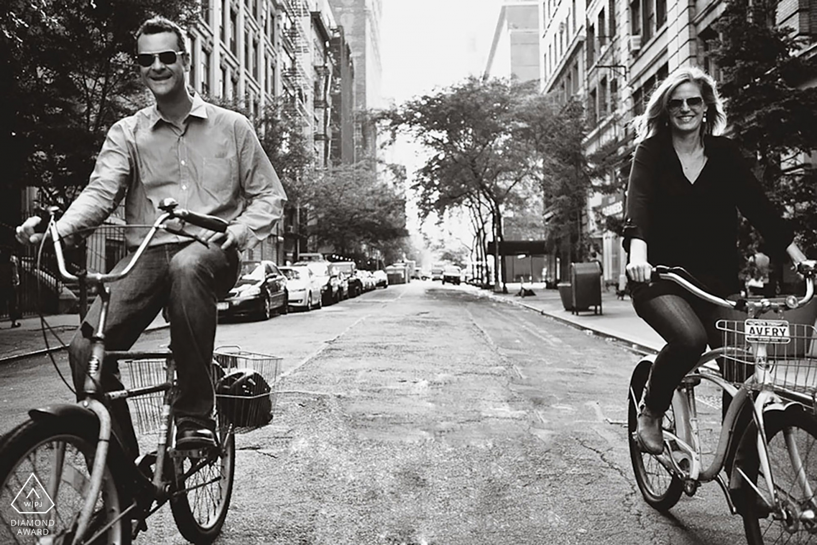 bike ride engagement photo by casey fatchett
