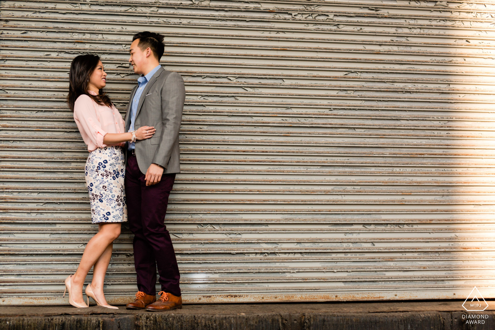 meat packing district engagement photos by wedding photographer casey fatchett