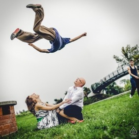 Sławek Nadra z Lubelskiego jest fotografem ślubnym
