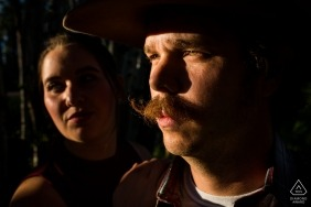 She loves this Arizona man for his mustache and cowboy hat - a marriage that will last forever