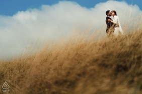 Engagement shoot at Durdle Door by Rohit Gautam Sai Digital Wedding Photographer | London Photography