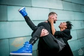 Denver gay engagement photography