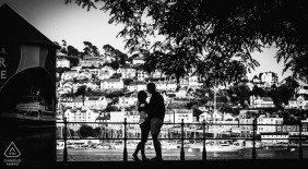 Dartmouth front engagement portrait - GRW Wedding Photography