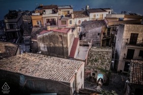 Wedding photographer in Syracuse   Sicily engagement photography in the village