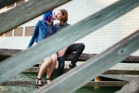 Seattle Washington Engaged Couple Photography
