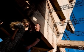 Murcia destination wedding photographer | Urban Spain engagement session photography