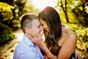 Wedding engagement photography in New York - Long Island engagement photographers