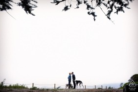 San Francisco park session and Northern California Engagement Portraits