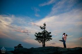 Photographie de fiançailles pré mariage mariage - Nevada Photographers