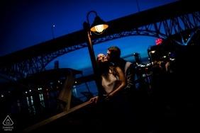 Ben Chrisman, of South Carolina, is a wedding photographer for