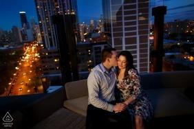 Travis Haughton, dell'Illinois, è un fotografo di matrimoni per