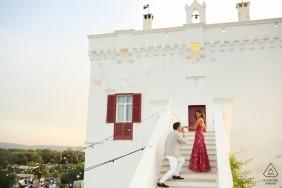 Marco Odorino, de Bari, est un photographe de mariage pour