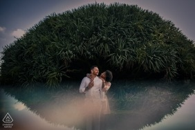 Fabio Azanha, of , is a wedding photographer for