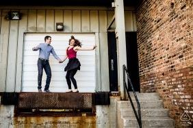 Allison Williams, of Illinois, is a wedding photographer for