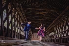 Orlando Suarez z Georgii jest fotografem ślubnym