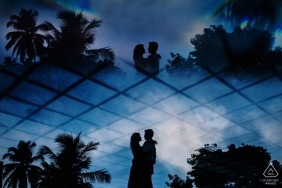 Geeshan Bandara, of Western, is a wedding photographer for