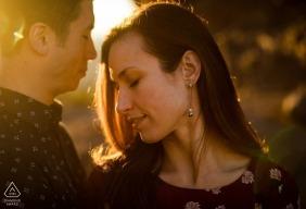 Rebekah Sampson, do Arizona, é uma fotógrafa de casamentos para