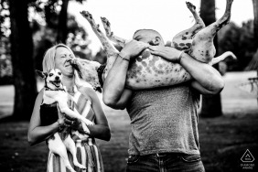 Janine Collette, of New Jersey, is a wedding photographer for