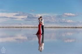 Yudi Shao, of , is a wedding photographer for
