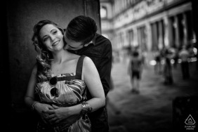 Matteo Originale, of La Spezia, is a wedding photographer for