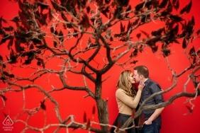 Matt Theilen, of California, is a wedding photographer for