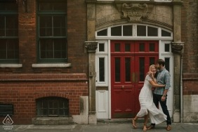Kari Bellamy, of London, is a wedding photographer for