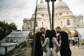 Kari Bellamy, of London, is a wedding photographer for