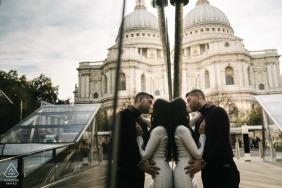 Kari Bellamy aus London ist ein Hochzeitsfotograf für