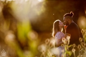 Afternoon Engagement shoot in Patrixbourne, Kent, UK with great sunlight