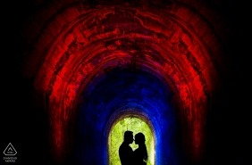 Da Lat - Viet Nam | Couple with the light during Engagement Photo Session