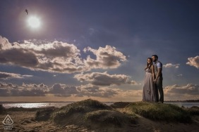 West Wittering, West Sussex at the beach | London Engagement Photographer