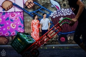 Pre Wedding Phuket Portraits | Urban Engagement Photographer