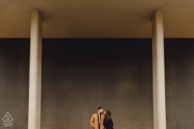 London UK Pre-Wedding Shoot with Couple in the City