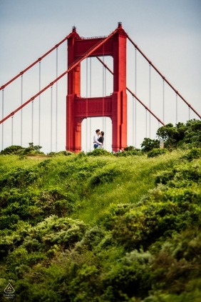 San Francisco Engagement at Golden Gate Bridge | California Engagement Photographer