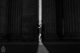 San Francisco b und w Engagements | Kalifornischer Verlobungsfotograf