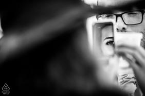 Ruse, Bulgarie - Les yeux de l'amour | Photos de fiançailles