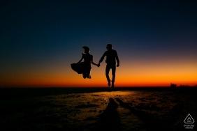 Malibu, CA Photographe - Idées de séances de fiançailles avant le mariage