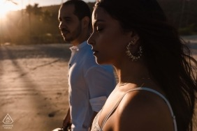 just feel the sun - Rio de Janeiro Engagement Photography in the Afternoon with this Couple