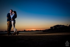 sunset portrait with special color - Murcia Engagement Photographer