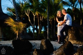 Destination Engagement Shoot in Mauritius