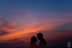 Galle Fort, Galle, Sri Lanka Sunset pre-wedding engagement photo shoot