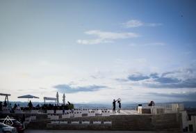 Mojacar Spain pre-wedding engagement photo shoot - dancing under the Sky in Mojacar