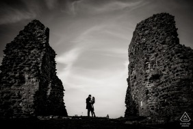 christchurch Priory engagement session - pre-wedding portraits in England