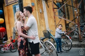 Engagement portrait session in Hoi An by Hoi an photographer